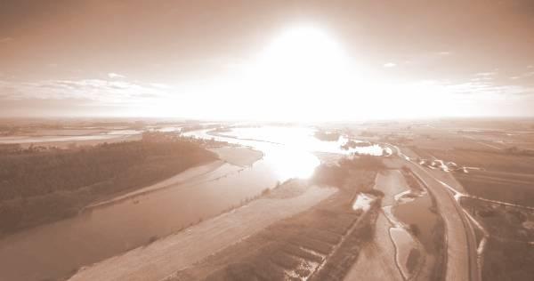 Hoogwatergeul (foto Erik Peek Airvideo)